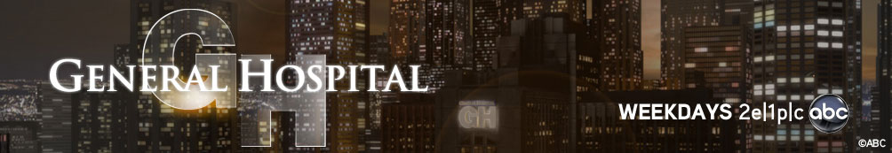 Port Charles city background with General Hospital logo